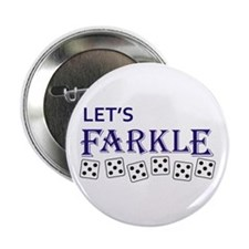 "LETS FARKLE 2.25"" Button (10 pack)"