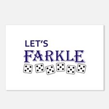 LETS FARKLE Postcards (Package of 8)