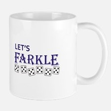LETS FARKLE Mugs