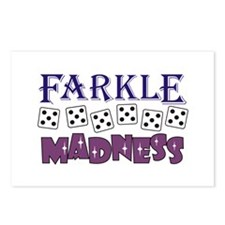 FARKLE MADDNESS Postcards (Package of 8)