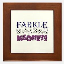 FARKLE MADDNESS Framed Tile