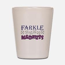 FARKLE MADDNESS Shot Glass