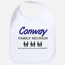 Conway Family Reunion Bib