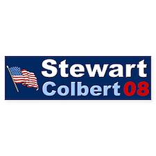 Stewart Colbert Bumber Car Sticker