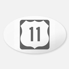 US Route 11 Decal