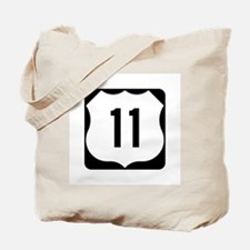 US Route 11 Tote Bag