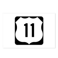 US Route 11 Postcards (Package of 8)