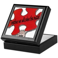 Together we will solve the pu Keepsake Box