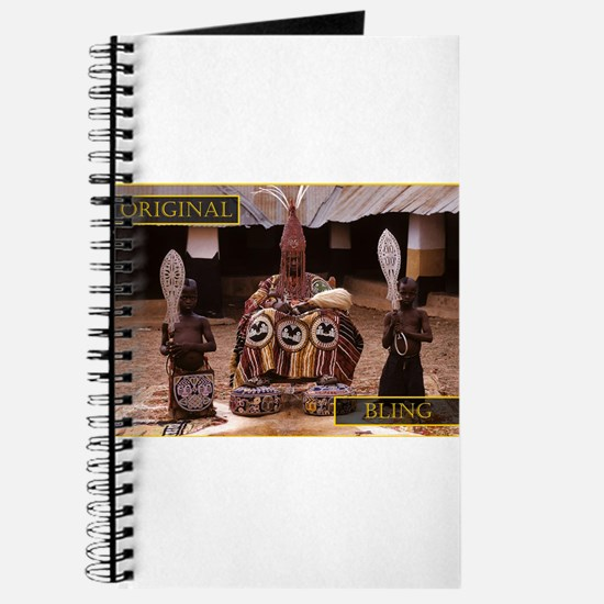 ORIGINAL BLING - YORUBA KING Journal