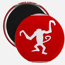 Year of the Monkey Chinese Zodiac symbol Magnets