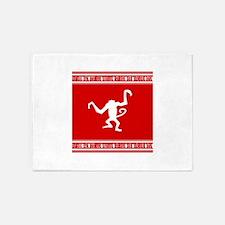 Year of the Monkey Chinese Zodiac symbol 5'x7'Area