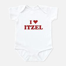 I LOVE ITZEL Infant Bodysuit