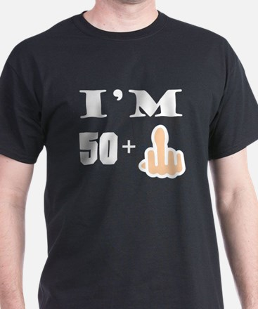 Middle Finger 51st Birthday T-Shirt