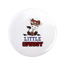"""Little Cowboy 3.5"""" Button"""
