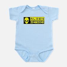 Alien Inside Yellow Body Suit