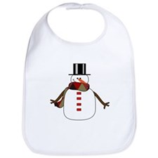 Snowman Bib