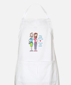 WHO NEEDS THERAPY Apron
