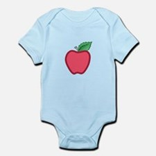 APPLE APPLIQUE Body Suit