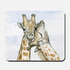 Giraffes Mousepad