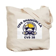 USS Shangri-La Ship's Image Tote Bag
