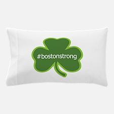 #bostonstrong shamrock Pillow Case