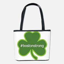 #bostonstrong shamrock Bucket Bag