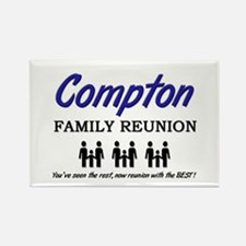 Compton Family Reunion Rectangle Magnet