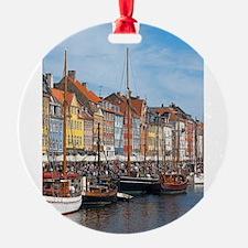 Nyhavn,Copenhagen,Denmark,danish Ornament