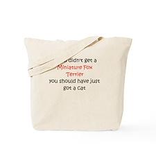 Miniature Fox Terrier Tote Bag