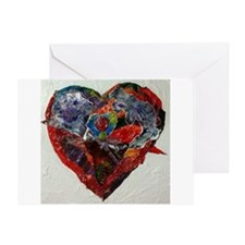 Hearts Greeting Card