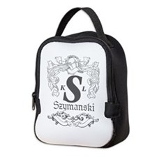 Szymanski logo Neoprene Lunch Bag