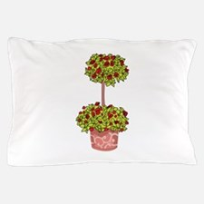 ROSE TOPIARY Pillow Case