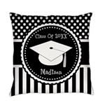 Graduation Personalized Dotted Gift Everyday Pillo