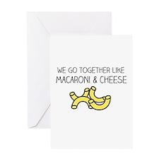 Mac & Cheese Greeting Cards