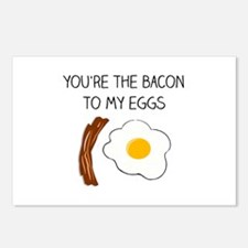 You're the Bacon to my Eg Postcards (Package of 8)