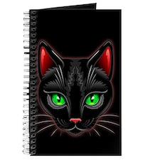 Black Cat Portrait Journal