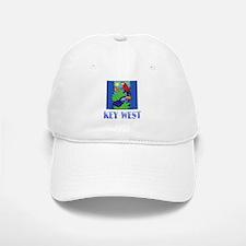 Macaw, Parrot, Butterfly, Jungle KEY WEST Cap