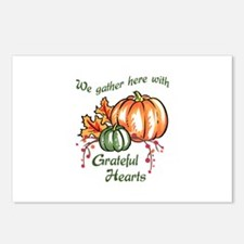 We Gather Here With Grateful Hearts Postcards (Pac