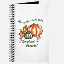 We Gather Here With Grateful Hearts Journal