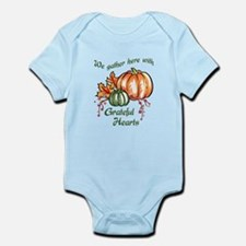 We Gather Here With Grateful Hearts Body Suit