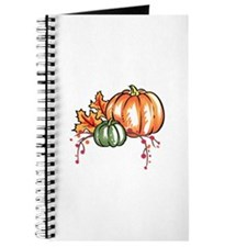 FALL FOILAGE AND PUMPKINS Journal