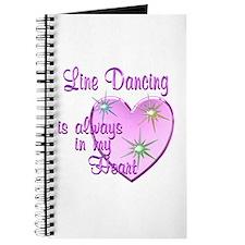 Line Dancing Heart Journal