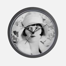 louise brooks silent movie star Wall Clock