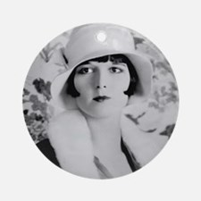 louise brooks silent movie star Ornament (Round)