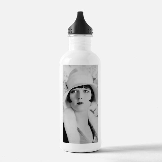 louise brooks silent m Water Bottle