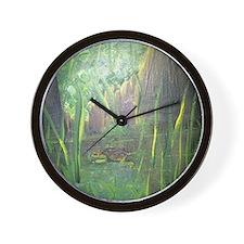 Turtle to Grow Wall Clock