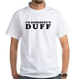 Im duff Mens White T-shirts