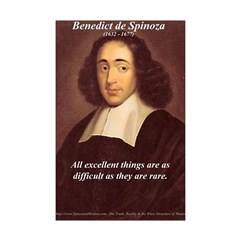 Philosophy Portrait Posters: Spinoza