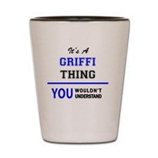 Griffy Shot Glass