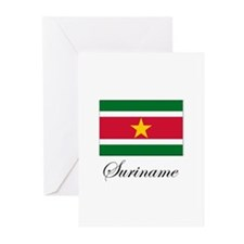 Suriname - Flag Greeting Cards (Pk of 10)